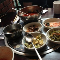 Photo taken at Mill Korean Restaurant by Pedro S. on 3/7/2013