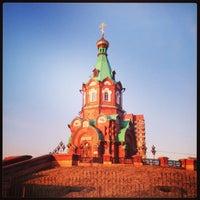 Photo taken at Свято-Никольский Храм by Полежаев Евгений on 4/14/2013