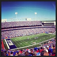 Photo taken at New Era Field by Sam F. on 9/9/2013
