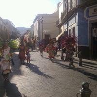 Photo taken at Plazuela de los Ángeles by Yoseluii F. on 5/21/2013