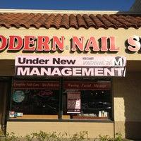 Photo taken at Modern Nail Spa by David L. on 3/6/2013