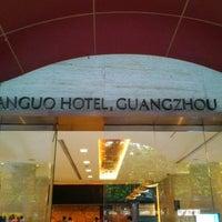 Photo taken at 建国酒店 Jianguo Hotel by Carlos G. on 3/16/2013