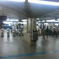 Photo taken at Estação São Joaquim (Metrô) by Tiago G. on 3/28/2013
