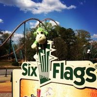Photo taken at Six Flags Over Georgia by Ang S. on 4/10/2013