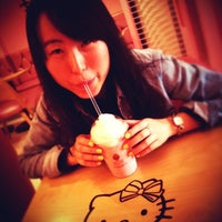 Photo taken at Hello Kitty Cafe by Swift H. on 4/4/2013