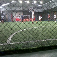 Photo taken at Galaxy Futsal Center by Rendi S. on 4/3/2013
