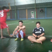 Photo taken at Galaxy Futsal Center by Rendi S. on 6/3/2013