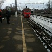 Photo taken at Ж/Д станция Мельничный Ручей by Денисович Д. on 3/31/2013