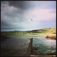 Photo taken at Dunfanaghy by Steven B. on 4/23/2014