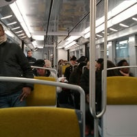 Photo taken at RER Arcueil – Cachan [B] by Robin G. on 3/22/2013