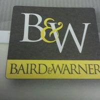 Photo taken at Baird & Warner by Frank P. on 4/12/2013
