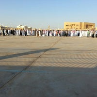 Photo taken at مصلى العيد بالبكيريه by Ebtihal on 8/8/2013
