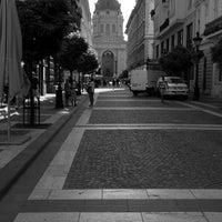Photo taken at Zrínyi utca by Ebtihal on 8/4/2016
