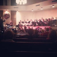 Photo taken at First Baptist Church by Brian S. on 12/15/2014