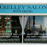 Photo taken at J. Kelley Salon by Jill Kelley R. on 4/23/2014