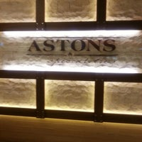 Photo taken at Astons Specialities by Alexis T. on 9/29/2012