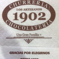 Снимок сделан в Churrería Los Artesanos 1902 пользователем Fernando R. 2/7/2018