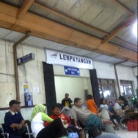 Photo taken at Stasiun Lempuyangan by Gabriella anita K. on 11/24/2012