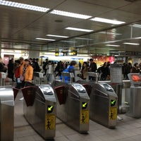 Photo taken at MRT Taipei Main Station by Lucas F. on 1/12/2013