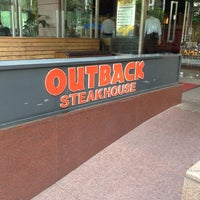 Photo taken at Outback Steakhouse by Lucas F. on 10/8/2012