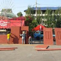 Photo taken at ที่ว่าการอำเภอพระประแดง by Sarayut P. on 4/19/2014