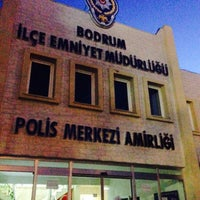 Photo taken at Pasaport Polis Bodrum şube by Adem O. on 4/27/2015
