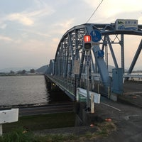 Photo taken at 吉野川橋 by とまむ on 7/30/2017