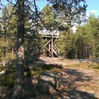 Photo taken at Kurjenrahka, luontotorni by Vadim G. on 9/14/2013