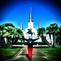 Photo taken at Jackson Square by Jessica L. on 2/26/2013