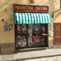 Das Foto wurde bei Fiaschetteria Trattoria Mario von Pablo C. am 4/30/2013 aufgenommen