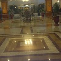Photo taken at Riu Palace Oceana***** Lobby Bar by Willy O. on 5/4/2013