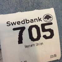 Photo taken at Swedbank by Neli on 5/20/2013