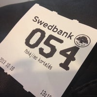 Photo taken at Swedbank by Neli on 10/18/2013