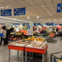Photo taken at Albert Heijn by Chico P. on 6/15/2013
