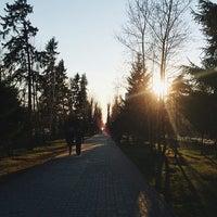 Photo taken at Бульвар по пр. Кирова by Alexandra K. on 5/1/2014