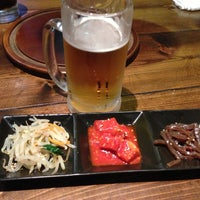 Photo taken at 焼肉・韓国家庭料理 眞味亭 by Kaizo 2. on 6/22/2013