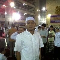Photo taken at Masjid Bank Panin Pusat by Daeng A. on 9/28/2012