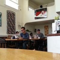 Photo taken at Mercury Cafe by Patricio P. on 4/24/2013