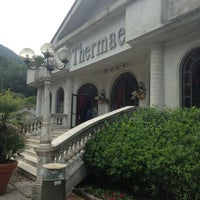 Photo taken at Grand Hotel Terme RosaPepe by Di on 7/12/2013
