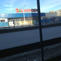 Photo taken at Карусель by Olesia on 3/16/2013