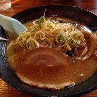 Photo taken at らーめん昭和屋 扇町店 by Maki S. on 11/20/2013