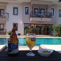7/29/2013 tarihinde Caglar S.ziyaretçi tarafından Göcek Arion Hotel'de çekilen fotoğraf