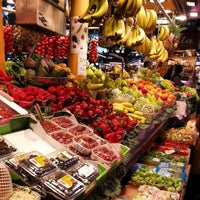 Photo taken at Mercat de Sant Josep - La Boqueria by Totts O. on 3/22/2013