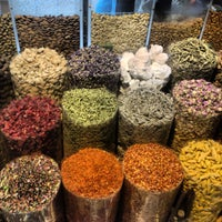 Photo taken at Spice Souq سوق البهارات by Mette on 4/14/2013