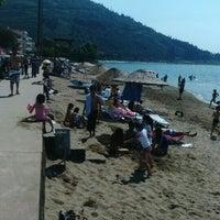 Photo taken at Ereğli Plaj by Musa K. on 6/14/2015