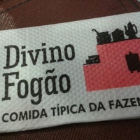 Photo taken at Divino Fogão by Nat F. on 4/7/2014