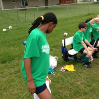 Photo taken at Menasha Soccer Club by Christopher W. on 5/28/2013