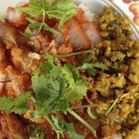 Photo taken at ข้าวหน้าหมูสามรส by Vittaya A. on 11/1/2012