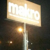 Photo taken at Makro by Marcone A. on 2/16/2014