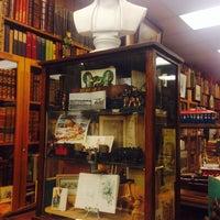 Photo taken at Caravan Bookstore by Yilu Z. on 9/16/2014